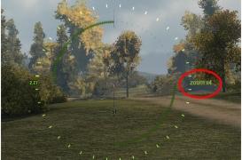 Простенький индикатор кратности зума в снайперском режиме