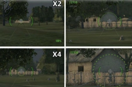 Максимальное увеличение дальности ZoomX