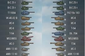 Иконки танков от Wasja для патча 0.9.3