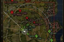 Миникарта с большими маркерами танков 0.9.3
