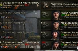 Мод расширенное личное дело танкиста 0.9.3
