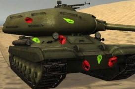 Мод цветные пробития танков для World of tanks 0.9.6