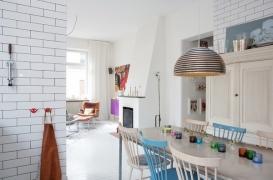 Кафель в гостиной: варианты использования