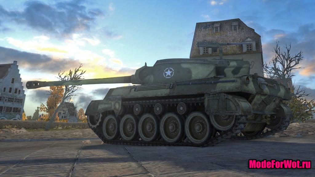 Нерф танка hellcat в WOT 0.9.3