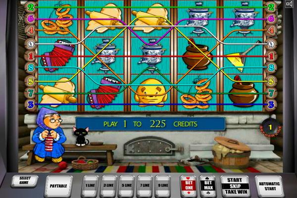 Игровые автоматы Кекс, или новые приключения Колобка